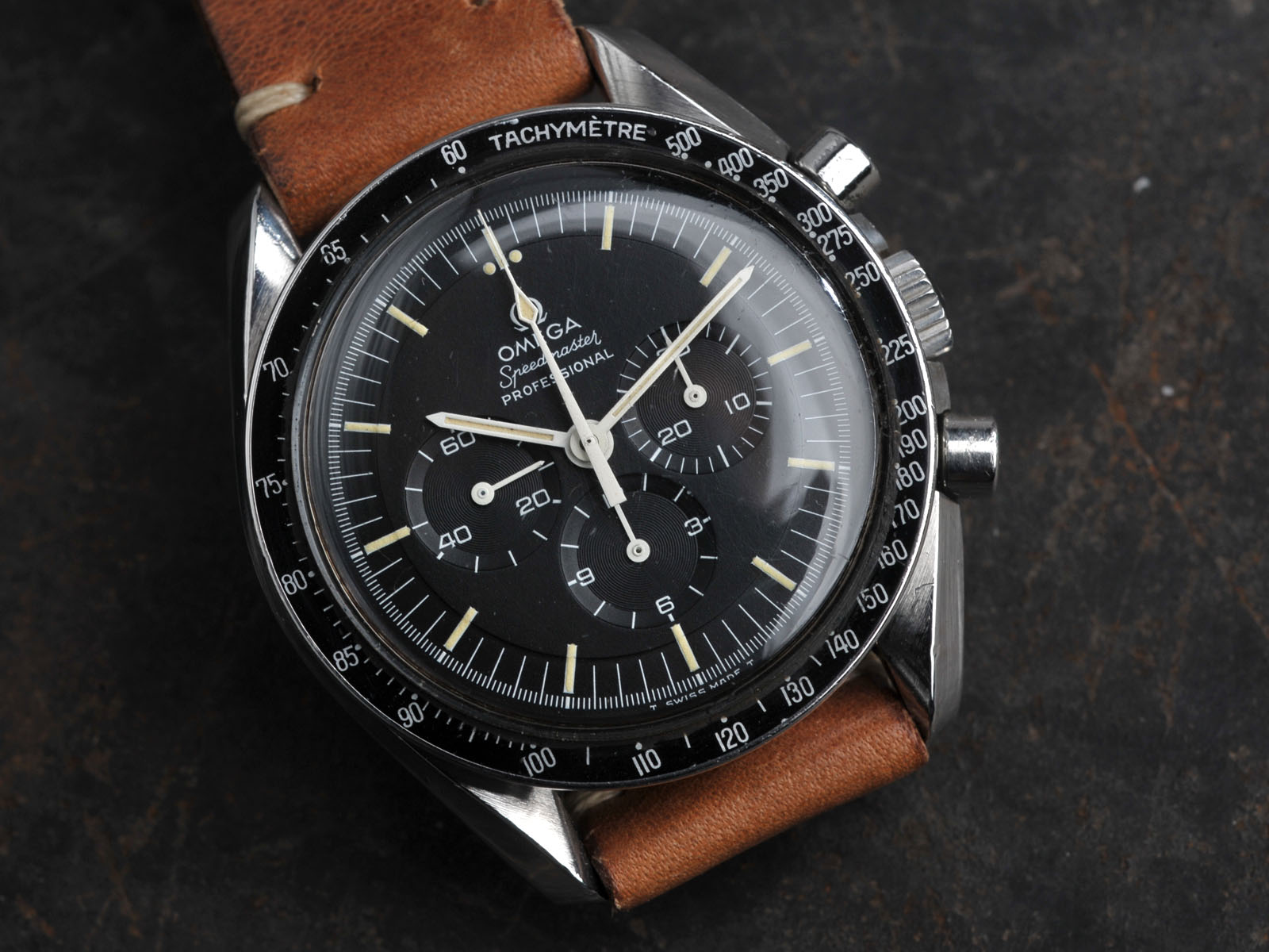 Omega speedmaster 1969 pre moon amazing patina rolex watch strap hand made for Omega watch speedmaster