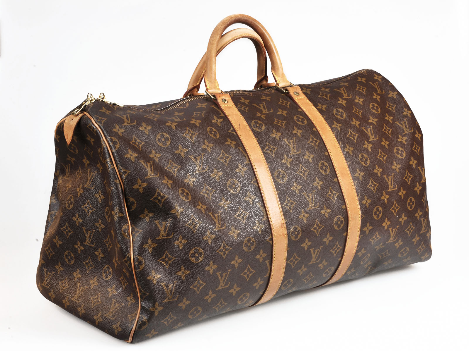 Vintage Louis Vuitton Monogram 50 Keepall Travel Bag