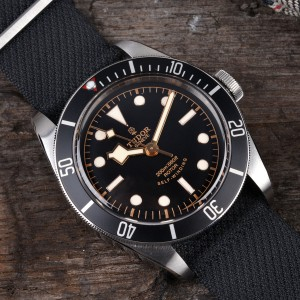 The New Tudor Heritage Black Bay Black 7922