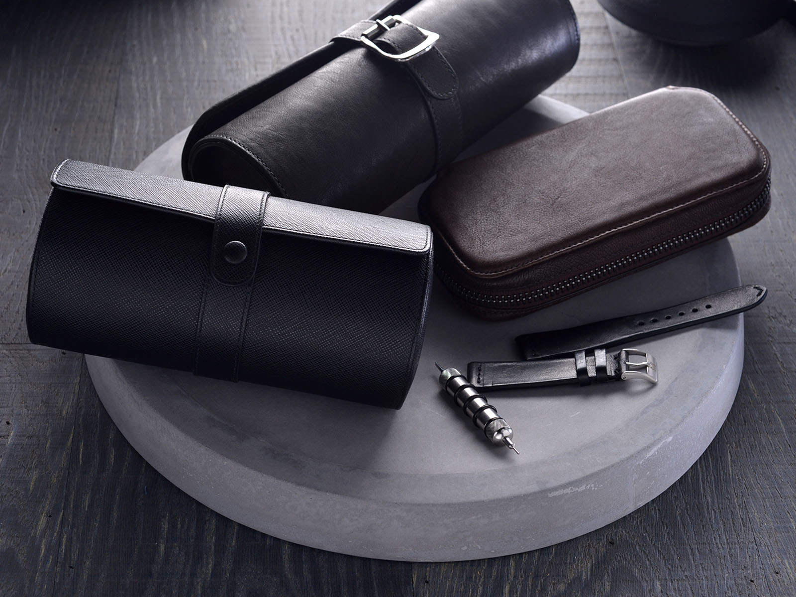 Travel Style - Watch Accessories for the Man on the Move