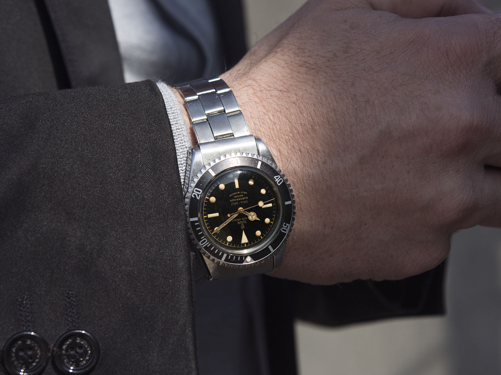 SPOT ON - The Untouched Tudor Submariner 7928