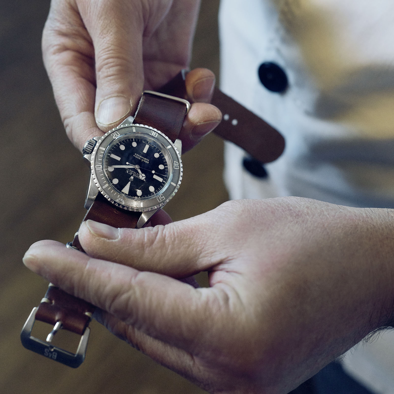 Bulang and Sons Strap Guide Rolex 5513c Faded Maxi Submariner