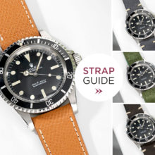 The Rolex 5513 Matte Dial Submariner Strap Guide