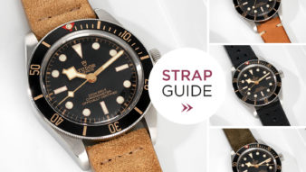 Bulang and Sons Strap Guide Tudor Black Bay 58