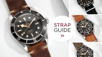 Bulang and sons Strap Guide Tudor Black Bay Black