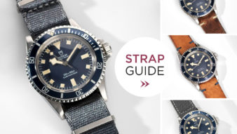 Bulang and Sons Strap Guide Tudor Blue Snowflake