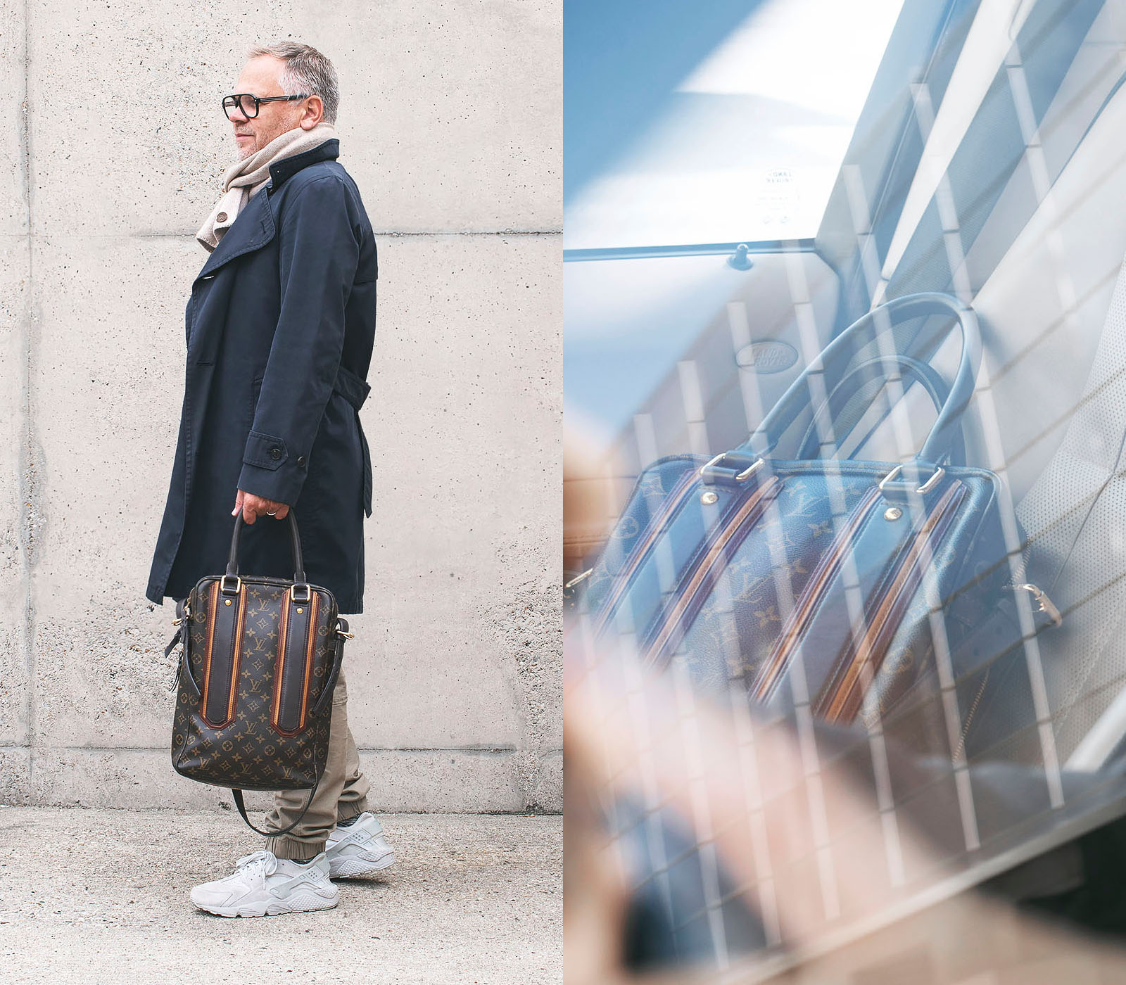 The 9 TO 5 Collection - Authentic Style for your Business and Life, Louis Vuitton Vertical Porte Document