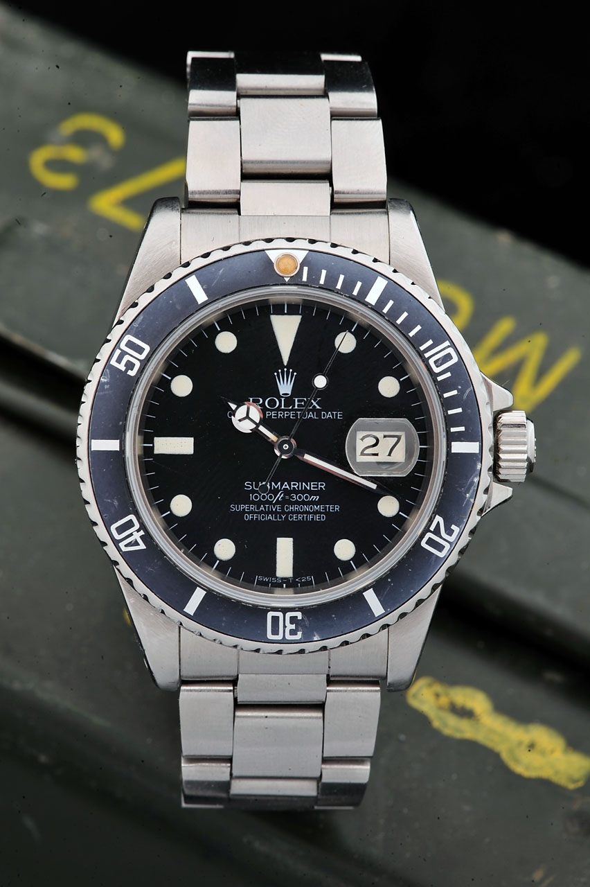 Fedex Box Prices >> ROLEX MATTE DIAL 16800 SUBMARINER - Bulang and Sons