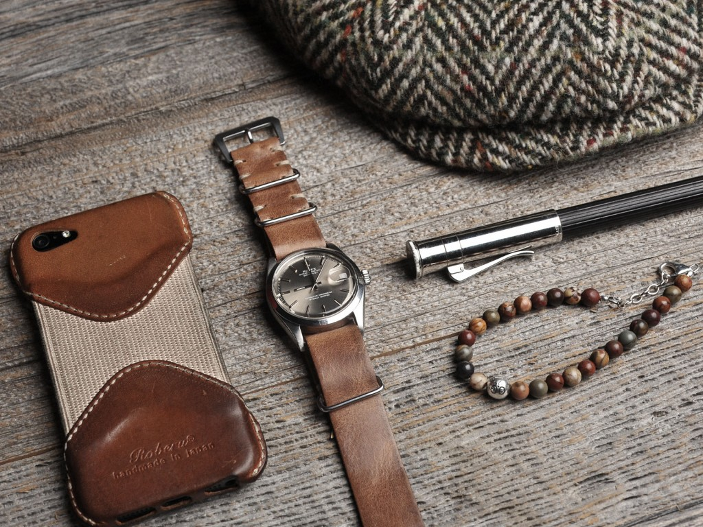 B&S watch on Leather Nato 04
