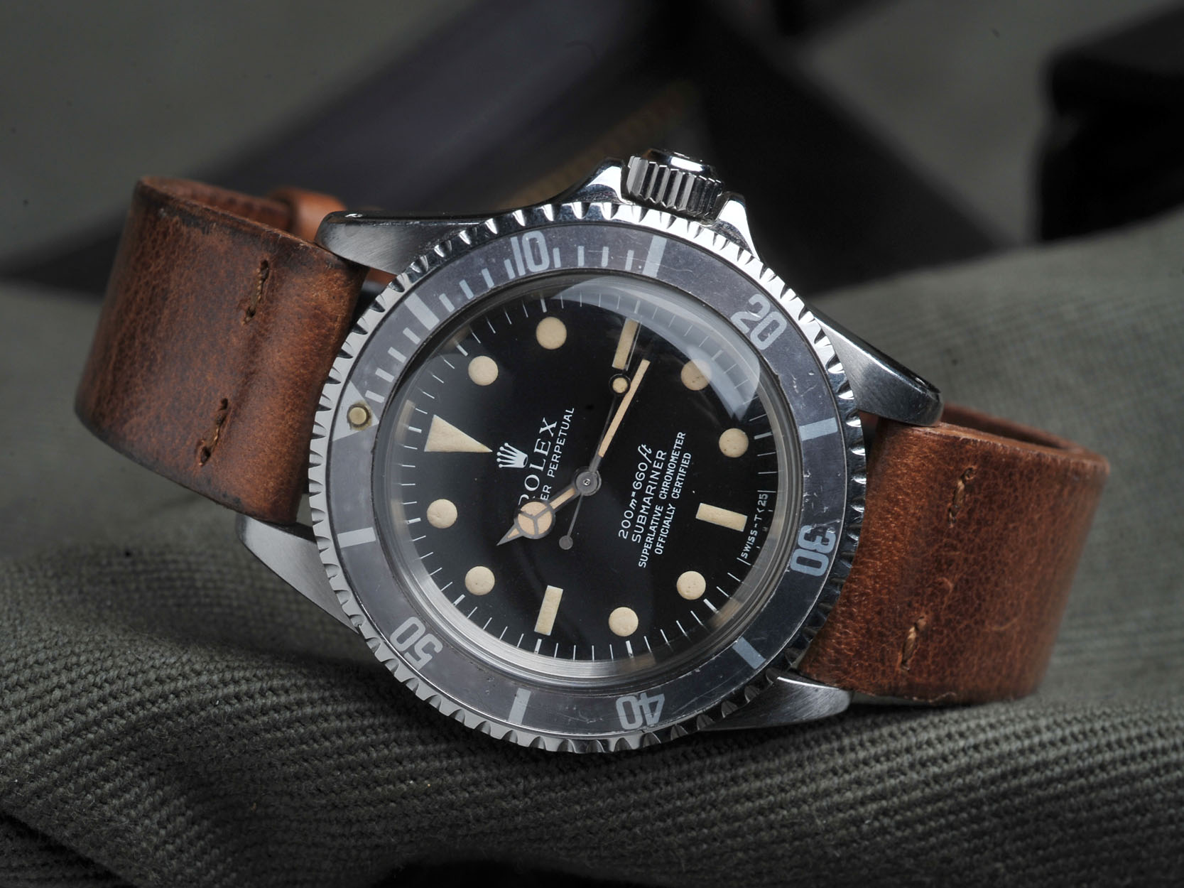 Vintage Rolex 5512 Steve Mcqueen Sold Bulang And Sons