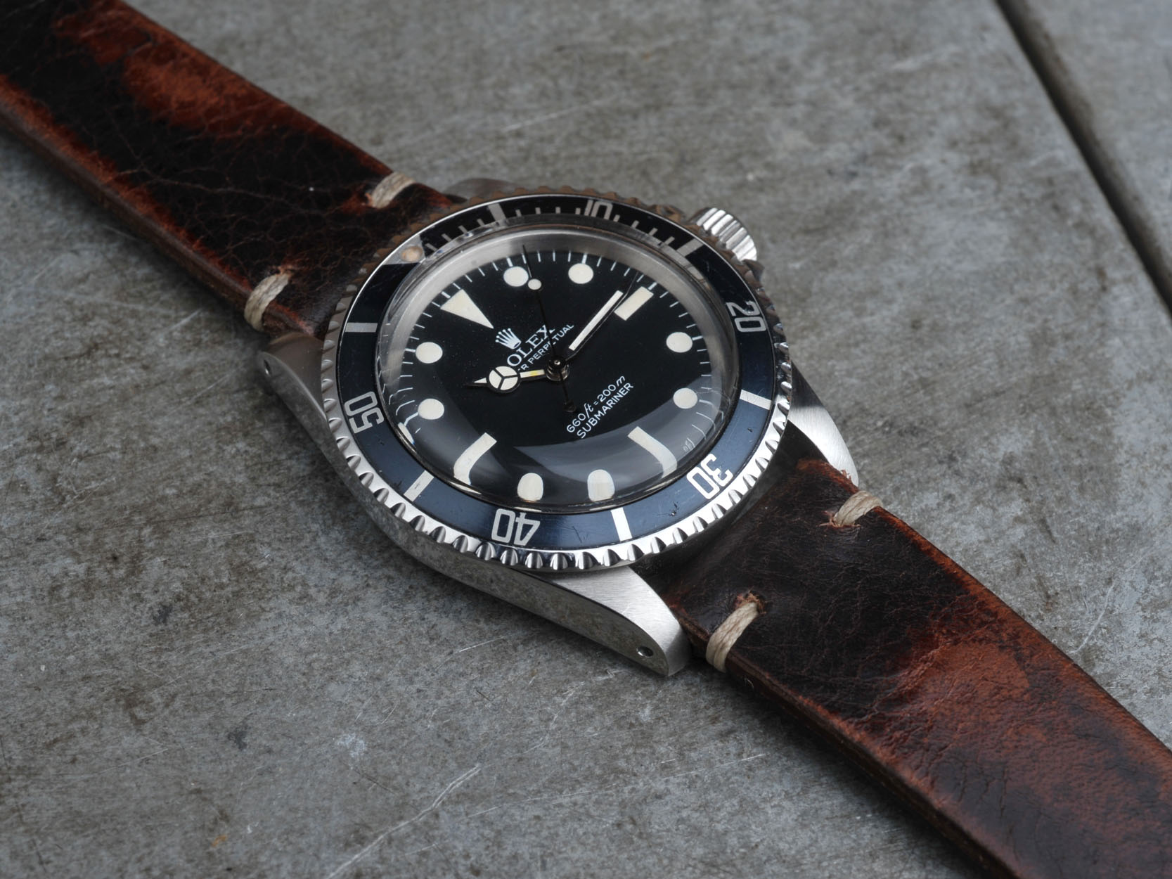 Rolex 5513 Submariner Sold Bulang And Sons