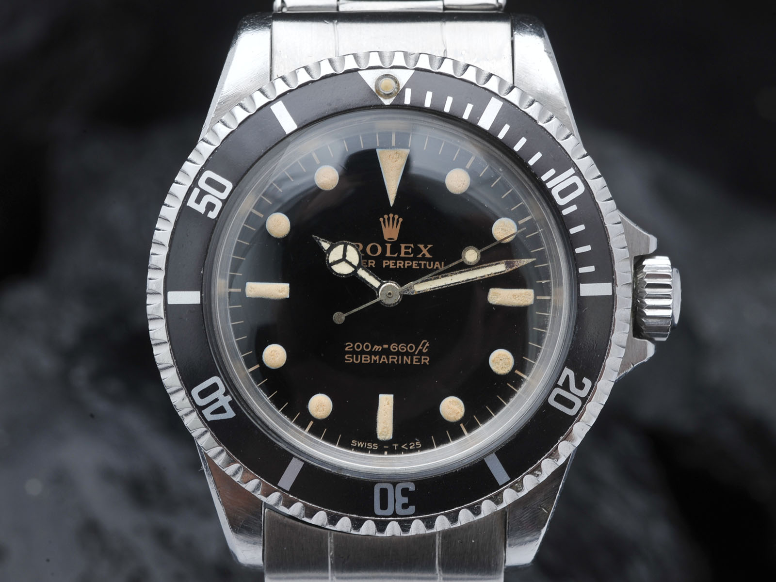 Curated Rolex 5513 Gilt Submariner Sold Bulang And Sons