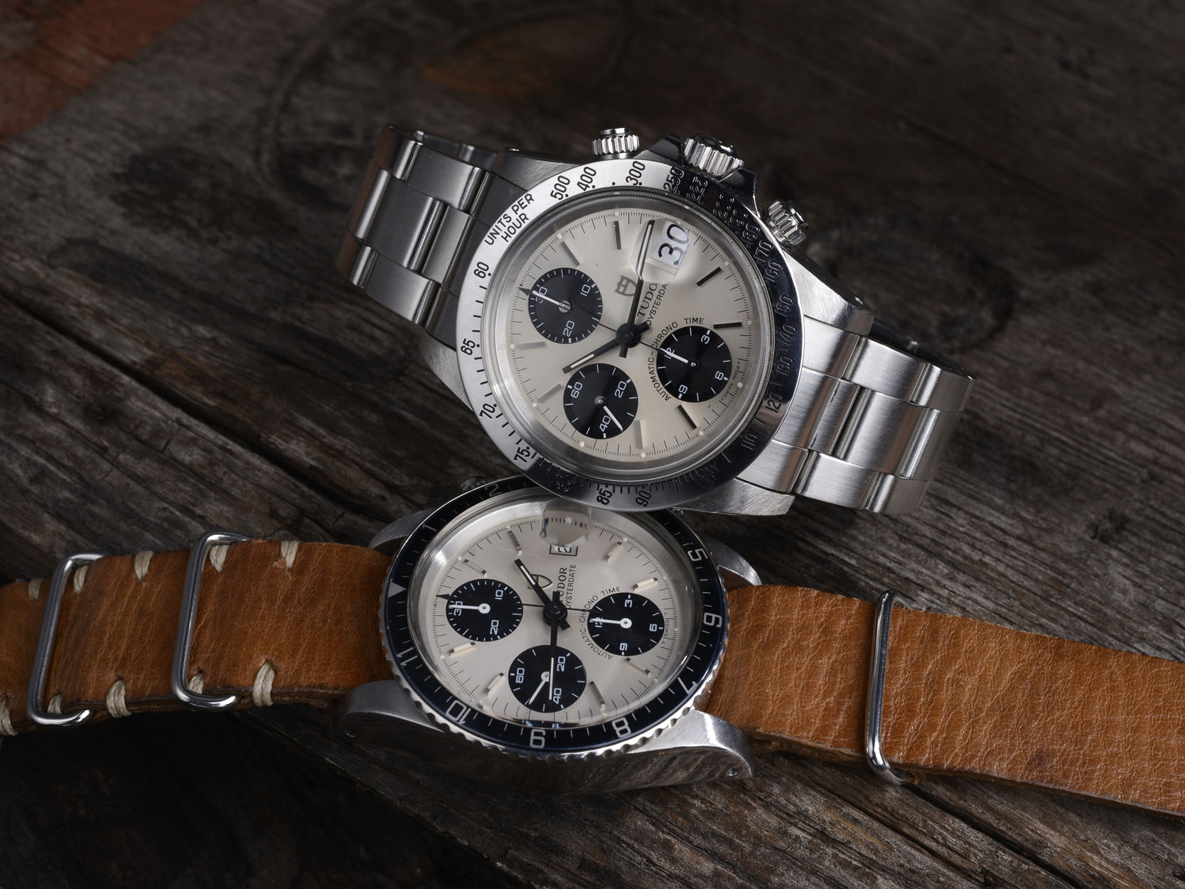 The Tudor Big Block Chronograph  79180