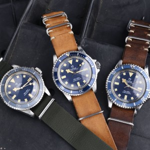 Tudor Marine National MN trio at Bulang & Sons