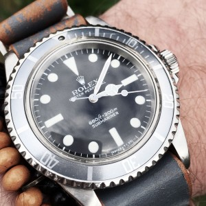 B&S Magazine 5 days 5 ways Rolex 5513 Maxi Mk1
