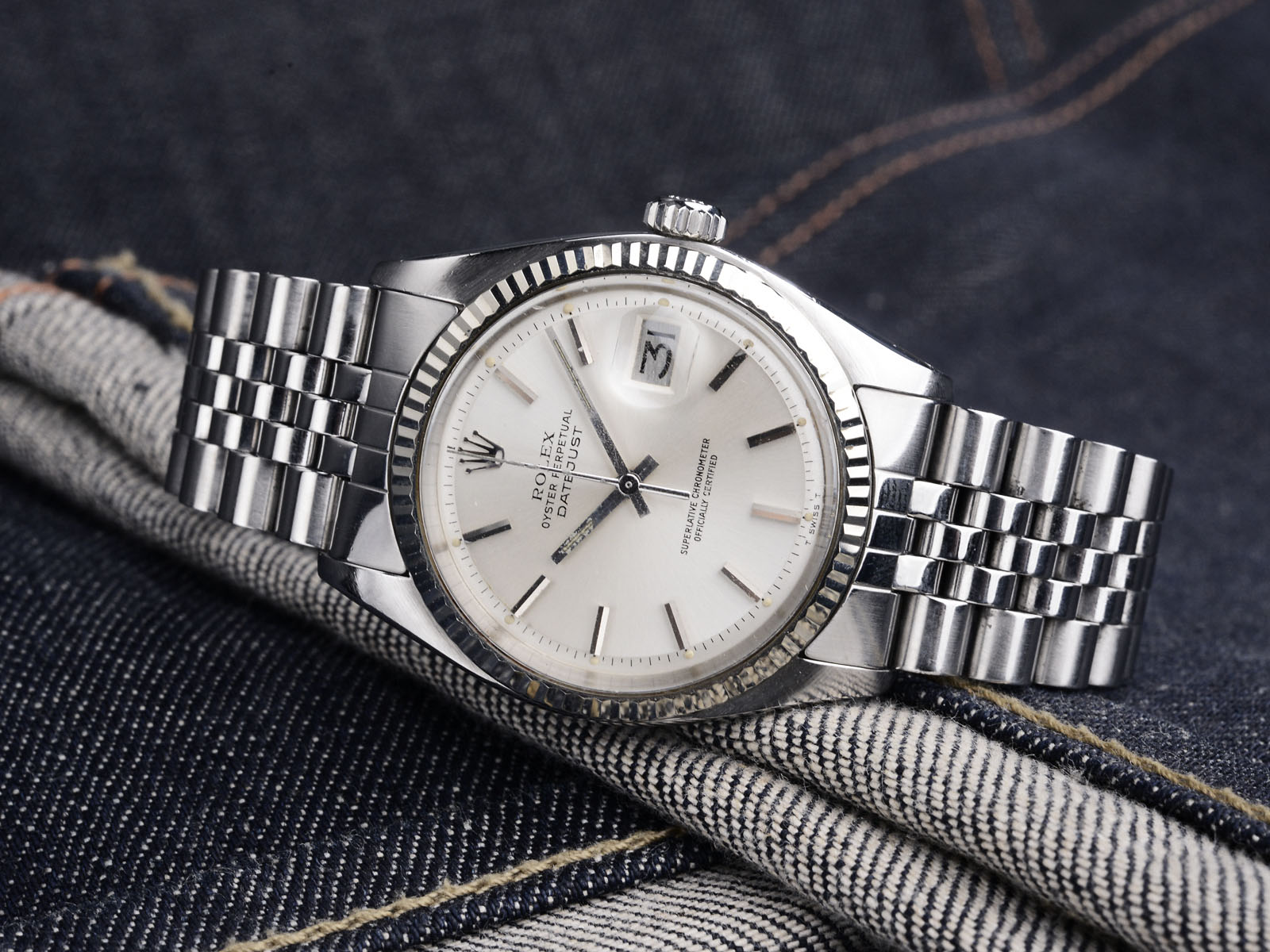 p pre watches goldsmiths rolex owned datejust