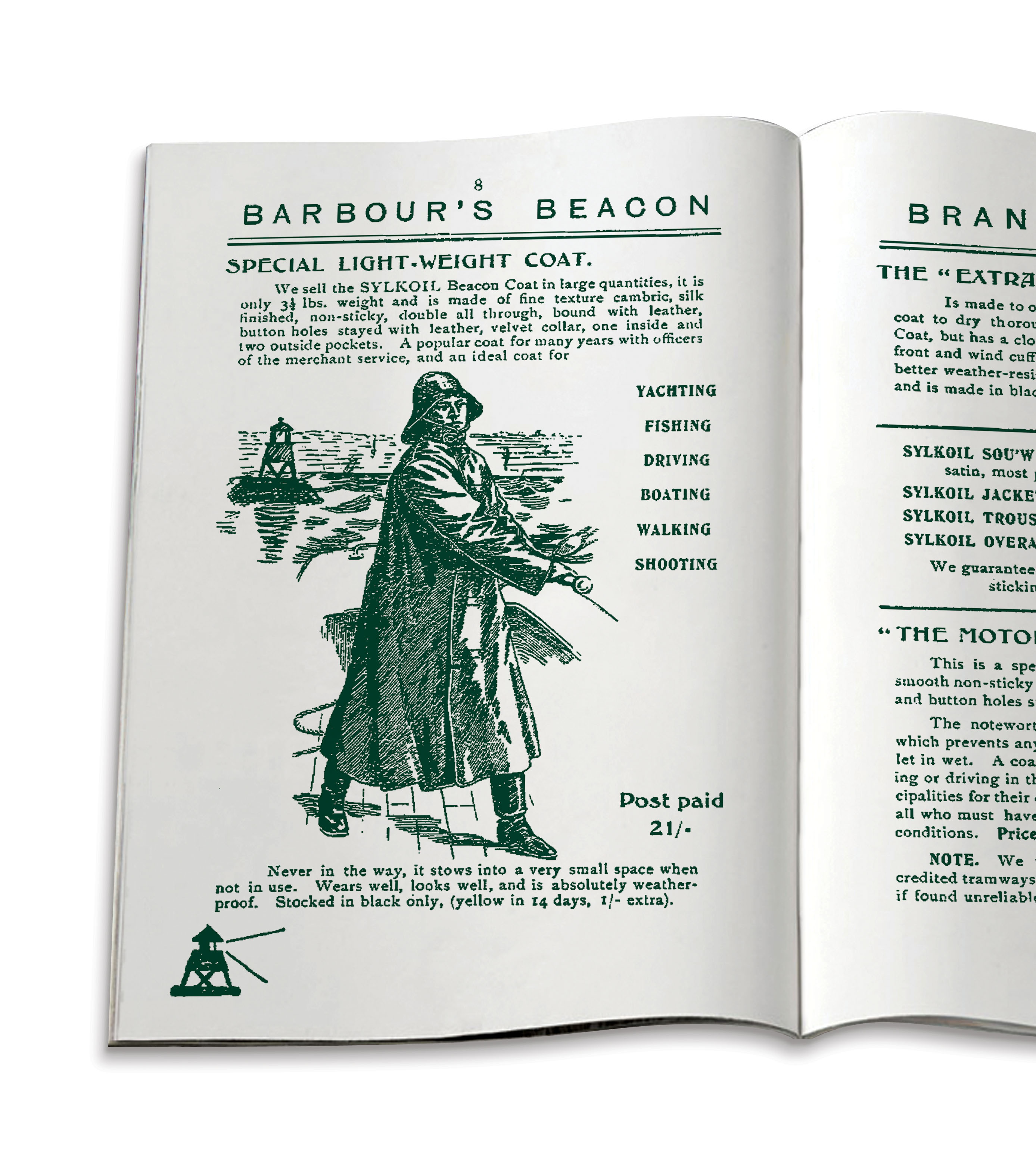 1908 - first mail order catalogue
