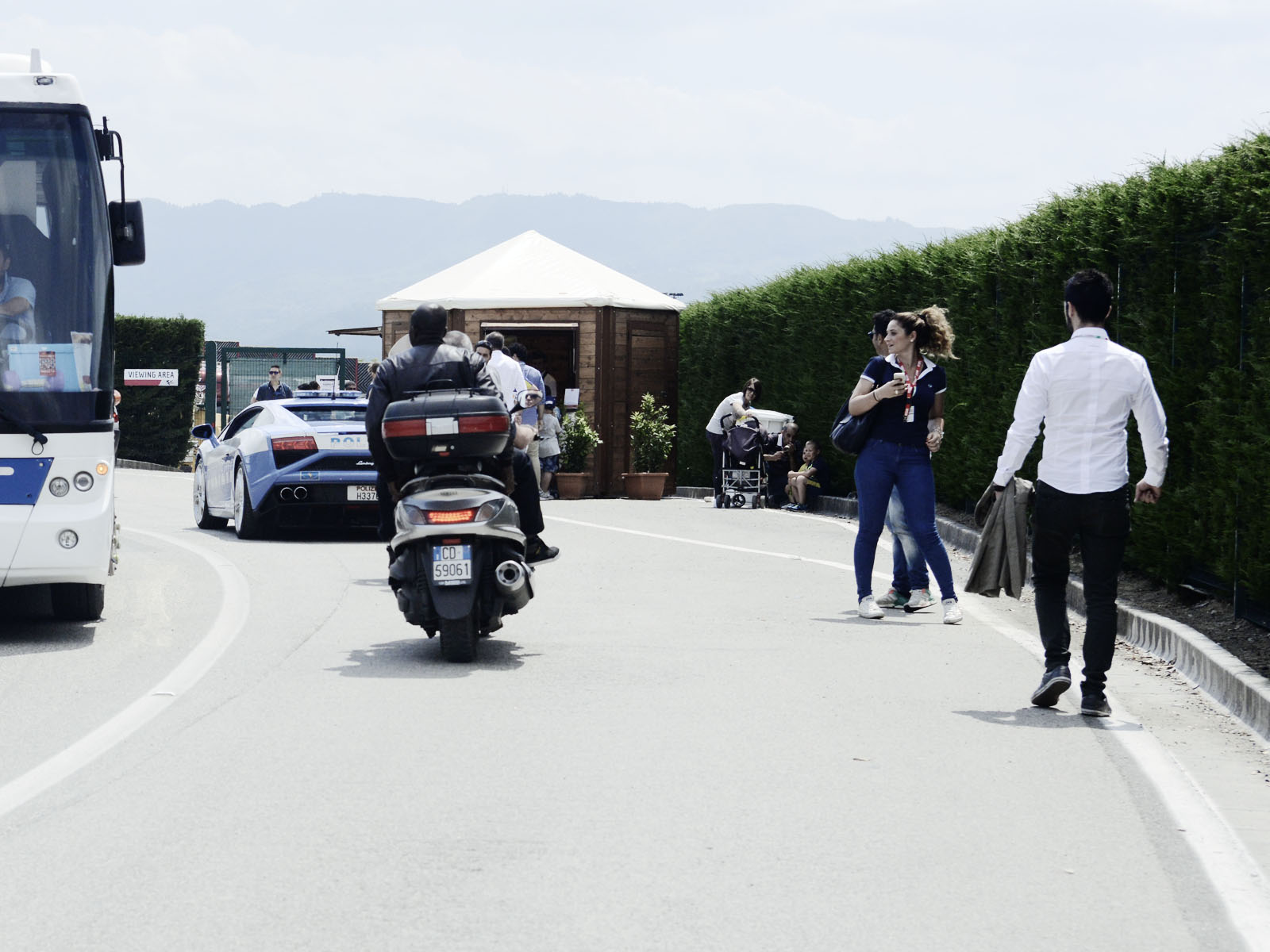 The B&S Tudor / Ducati Moto GP trip