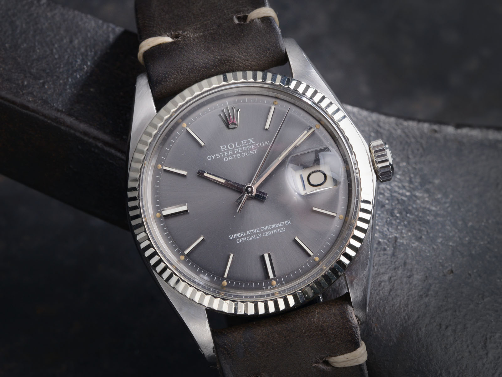Rolex 1601 Datejust Grey Dial Bulang And Sons