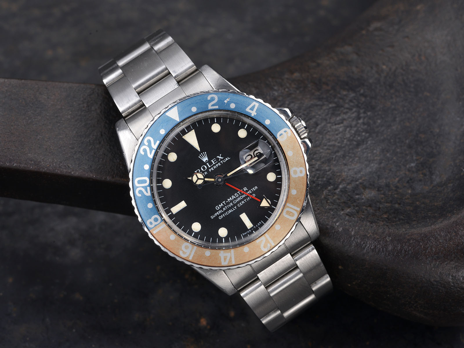 Fedex Box Prices >> ROLEX 1675 GMT 1971 MK1 LONG E - Bulang and Sons