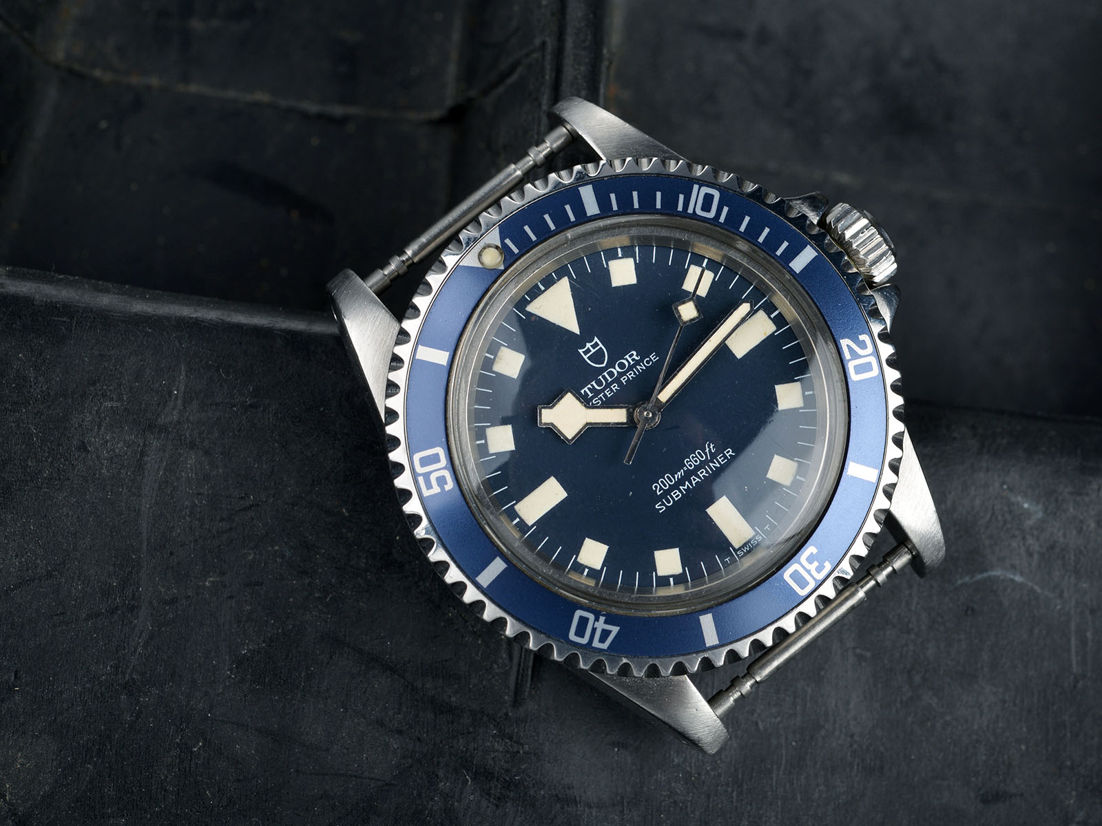 Out Of The Box - Bernhard's Grail 1977 Tudor MN Marine Nationale at Bulang & Sons. Collecting lifestyle and fine watches.