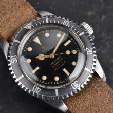 Tudor 7928 PCG Gilt Submariner Exclamation Dot