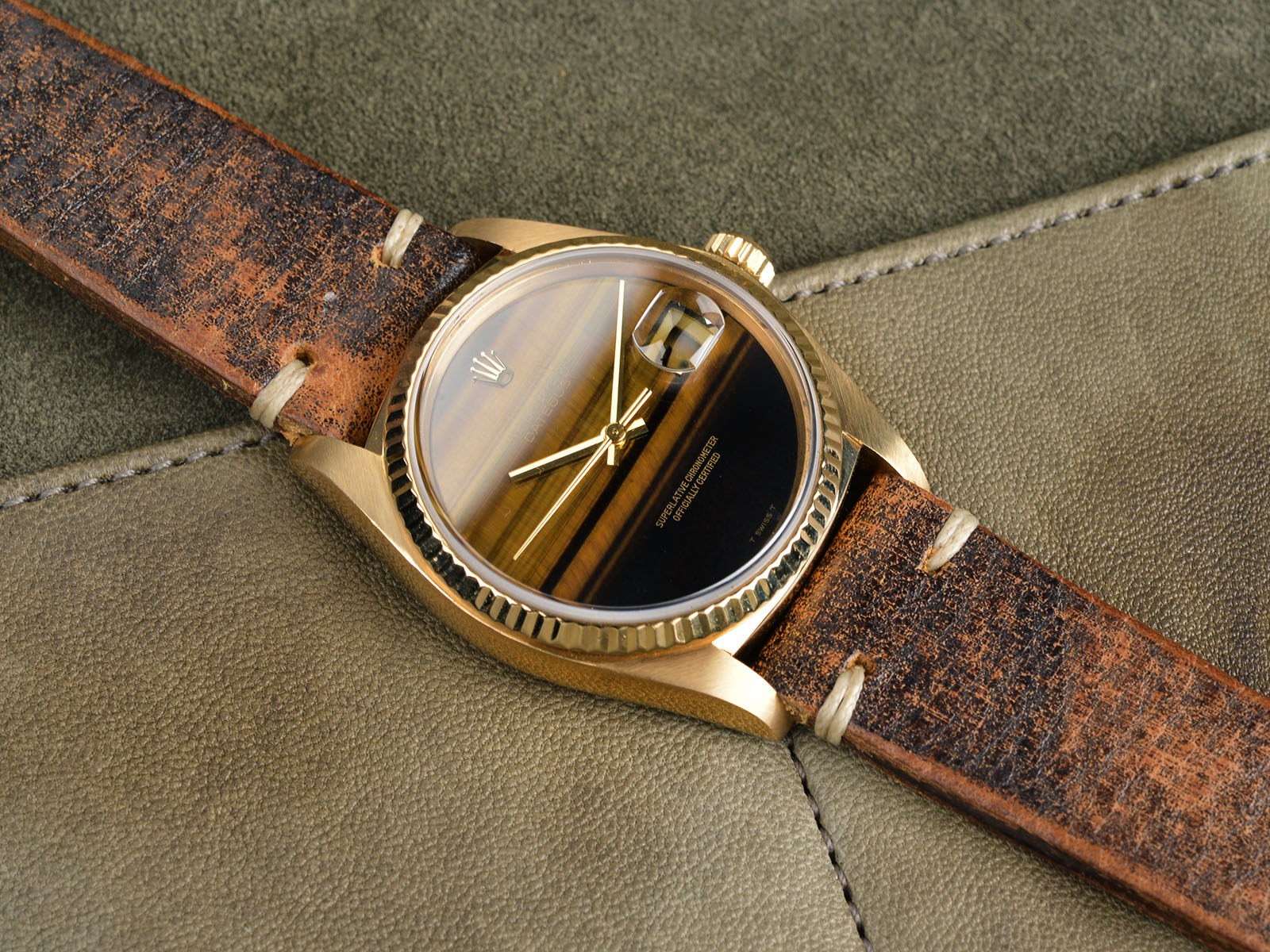 B&S W-177 Rolex 16018 Tigers Eye 08