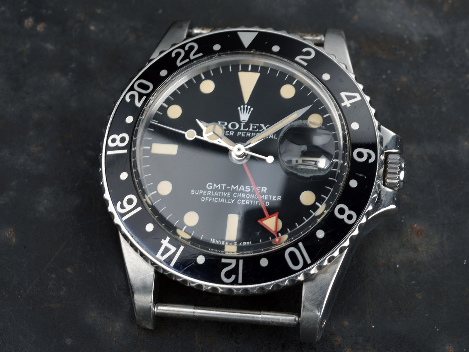 Fedex Box Prices >> ROLEX ALL RED HAND 1675 MAXI GMT - Bulang and Sons