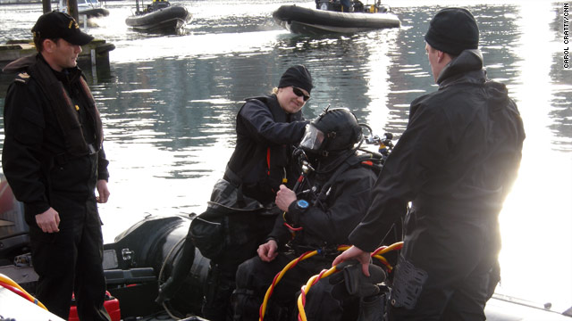 Canadian Clearance Diver