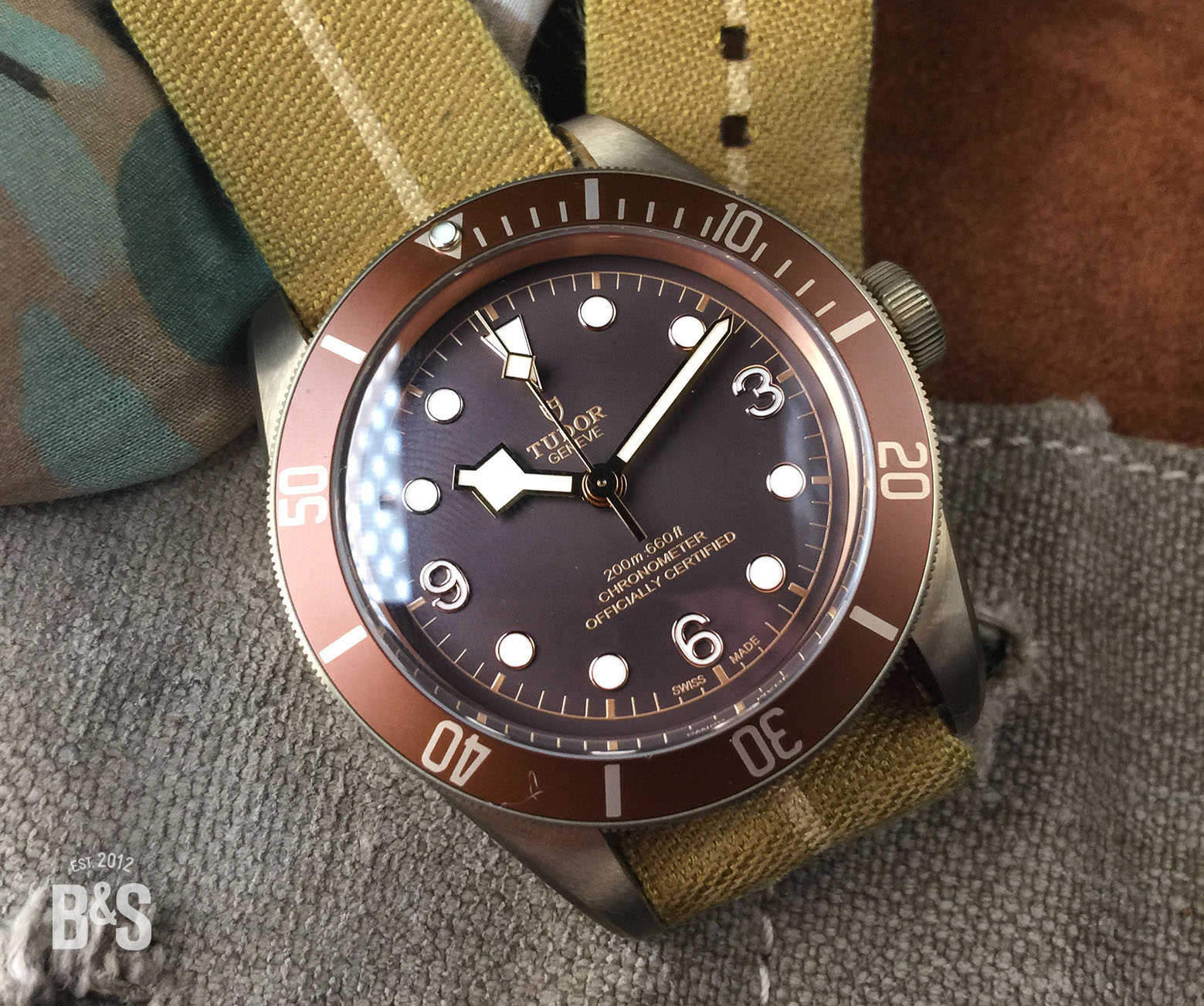 Bulang & Sons at Baselworld 2016 with the New Tudor Black Bay Bronze and Dark