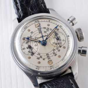 Spot On - Ernest Borel Mini Step Case Chronograph