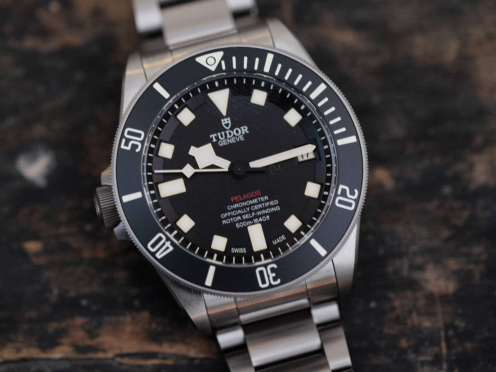 Destro Diver - The Tudor Pelagos LHD