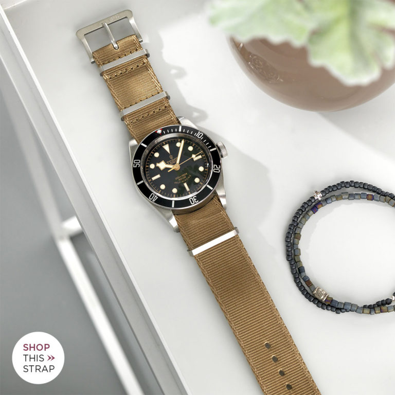 STRAP GUIDE – THE TUDOR BLACK BAY BLACK 79220N