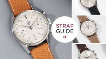 bulang and Sons Strap Guide Heuer Carrera