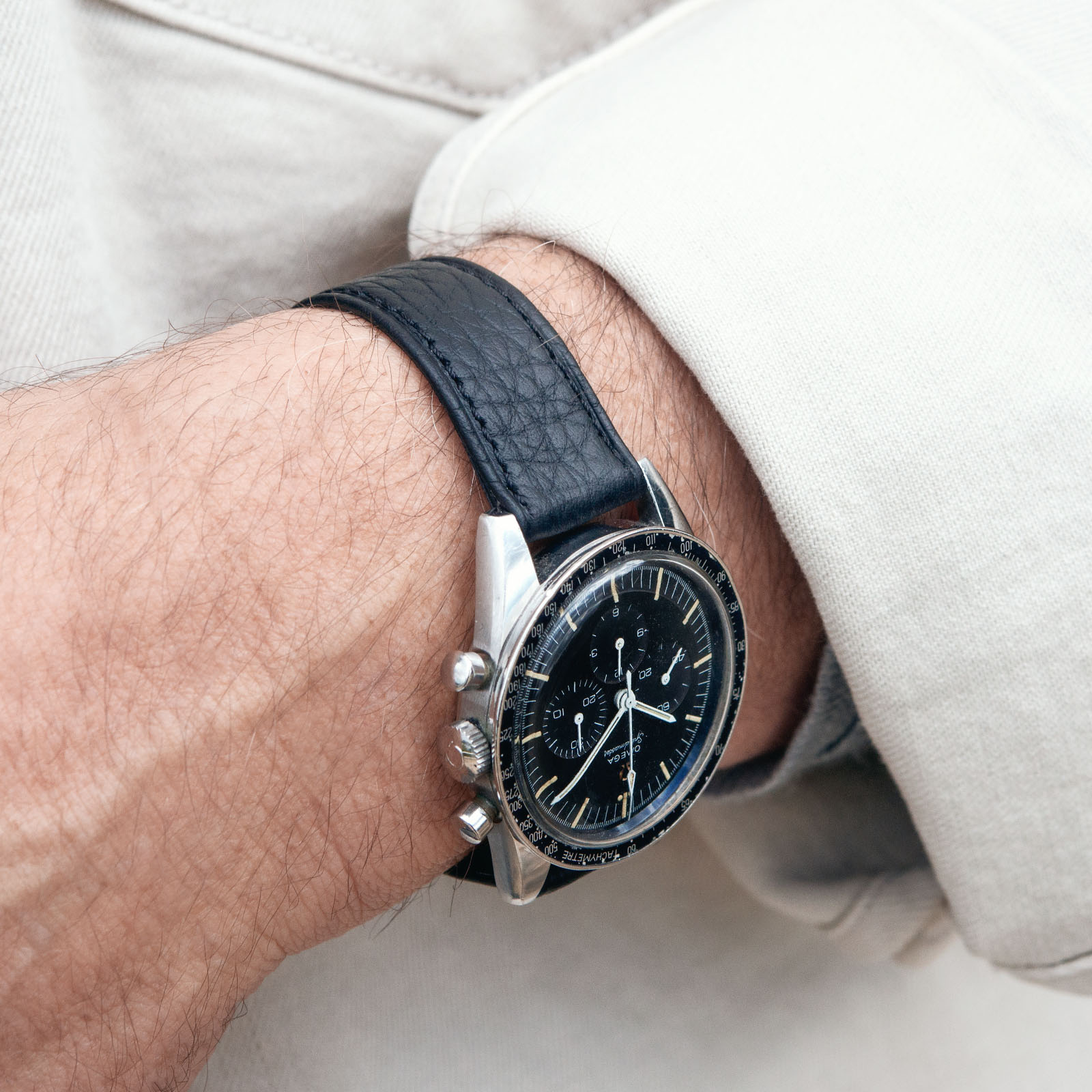 Bulang and Sons Strap Guide Omega Speedmaster Ed White