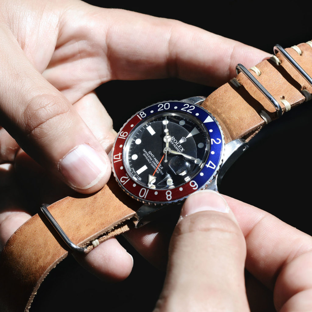 STRAP GUIDE – THE ROLEX 1675 GMT WITH PEPSI BEZEL