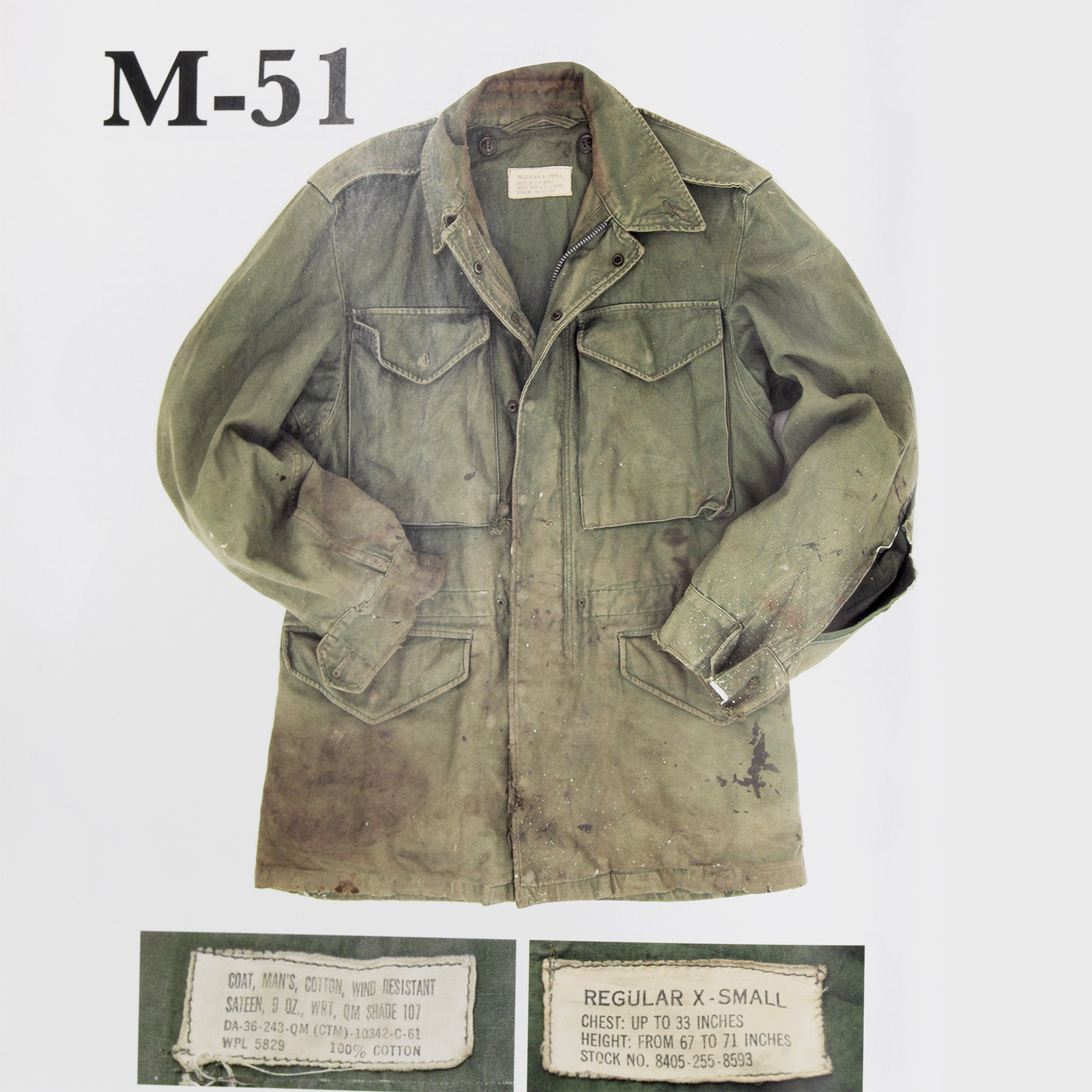 209ef522e45 The history of the M-65 Field Jacket by Bulang and Sons. Style for Original  ...