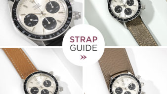 Bulang and Sons Strap Guide The Rolex Daytona 6263