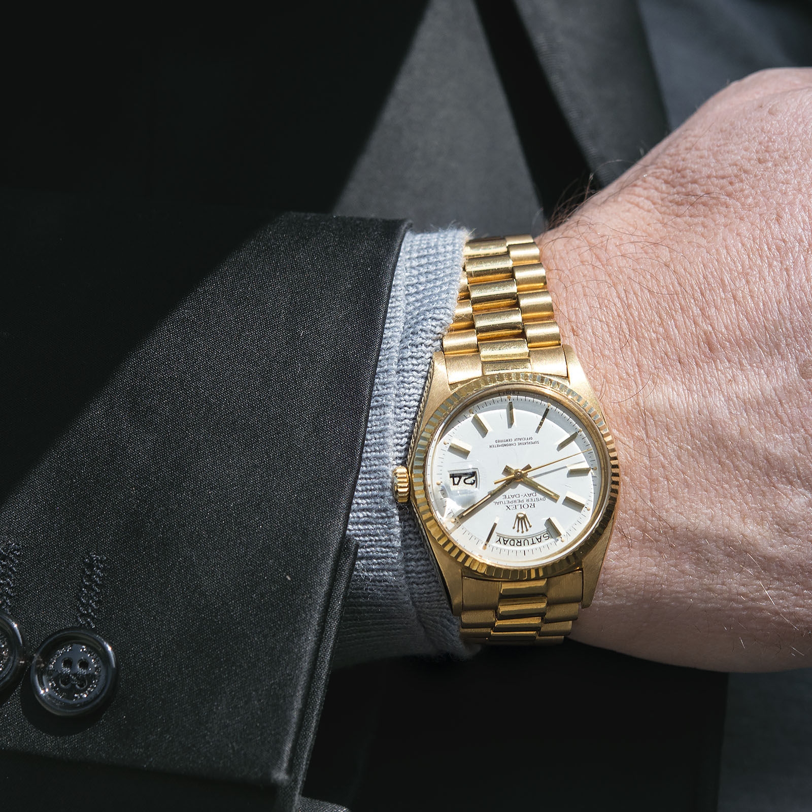6c01461b124 The Rolex Day-Date - King of Versatility