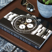 A Man and his watch book by Matt Hranek at Bulang and Sons store