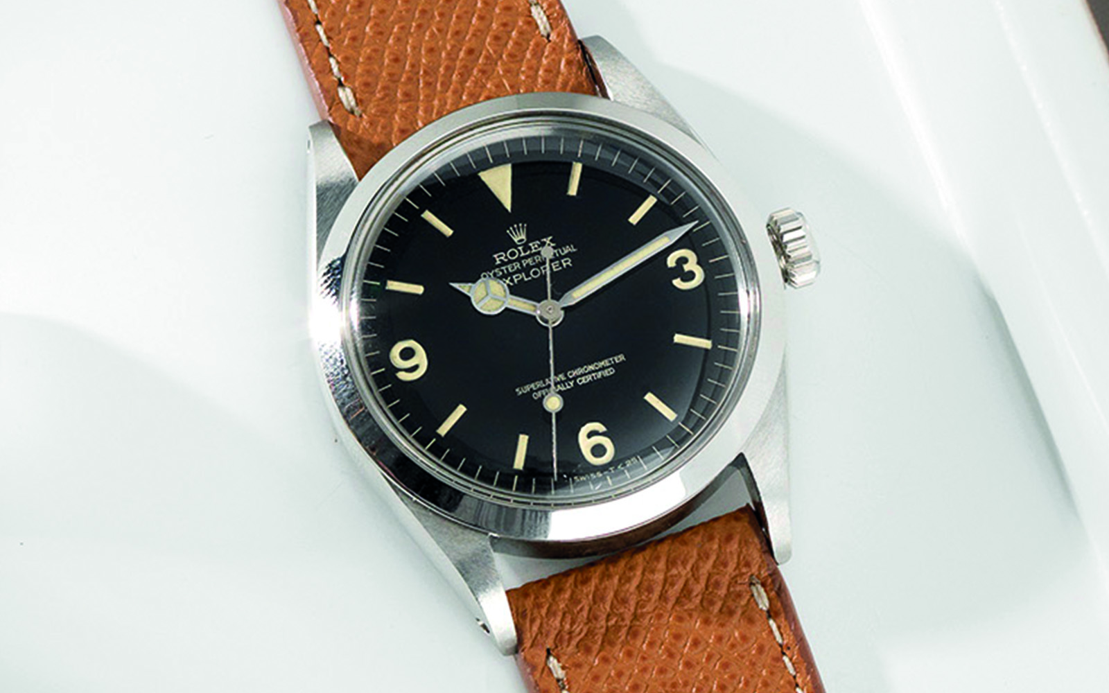 Strap Guide , The Rolex 1016 Explorer , Bulang \u0026 Sons