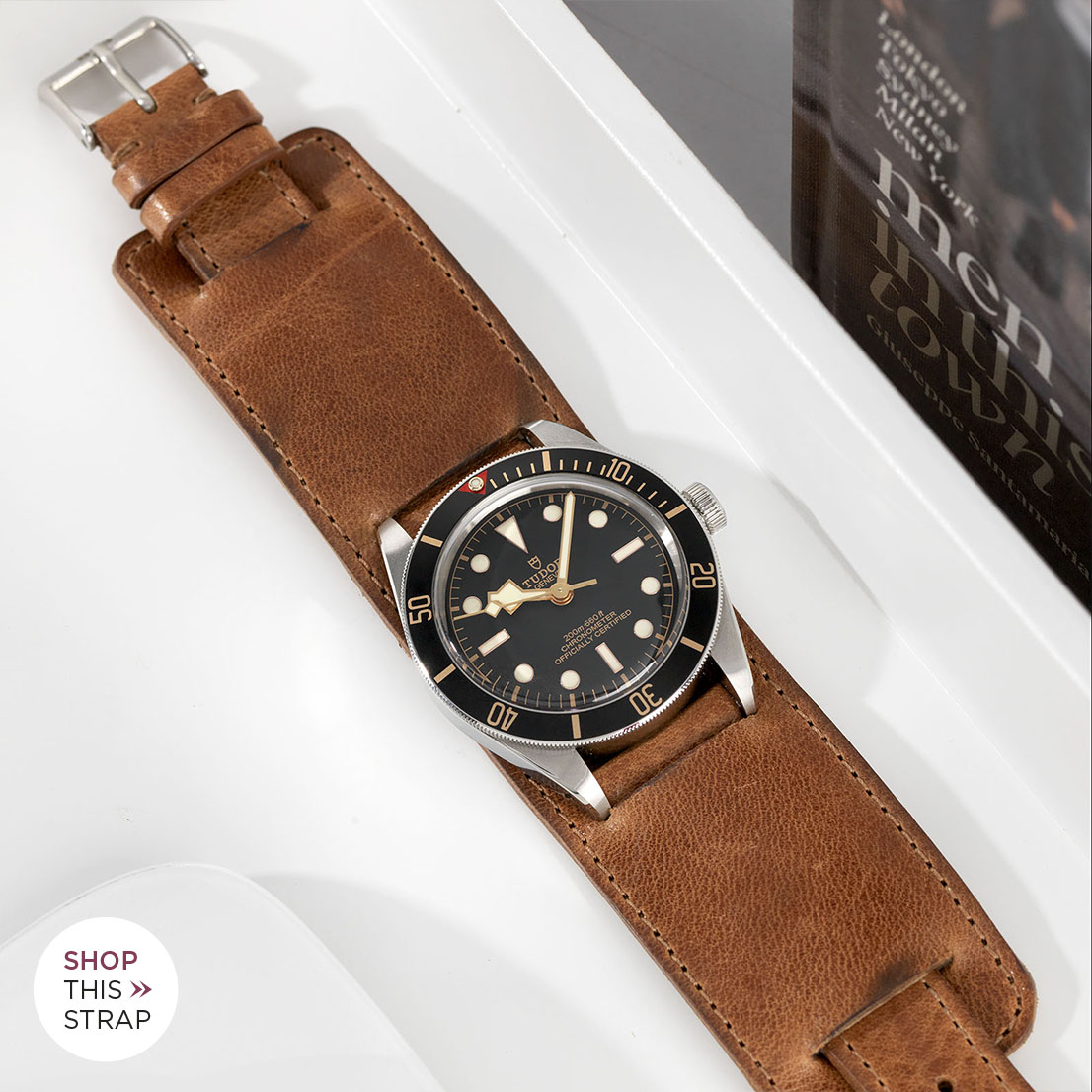 B&S Strap Guide Tudor Black Bay 58