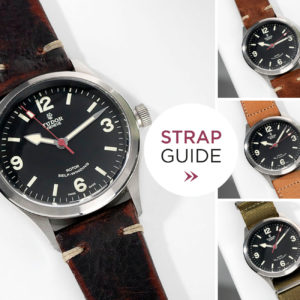 Bulang and Sons Strap Guide Tudor Heritage Ranger