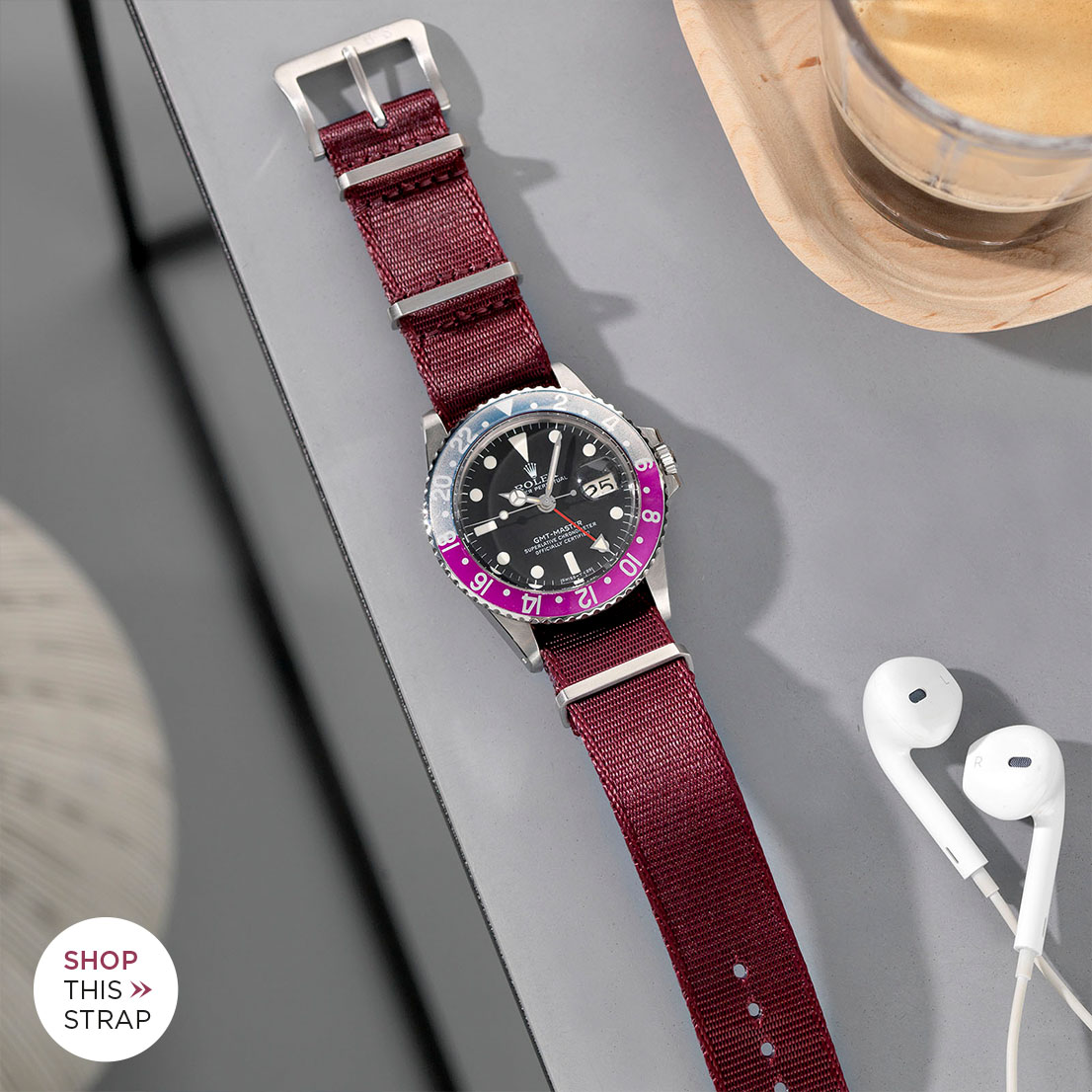 Bulang and Sons Strap Guide Rolex 1675 GMT Pepsi Bezel