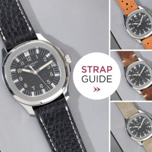 Bulang and Sons Strap Guide Patek Philippe Aquanaut 5065
