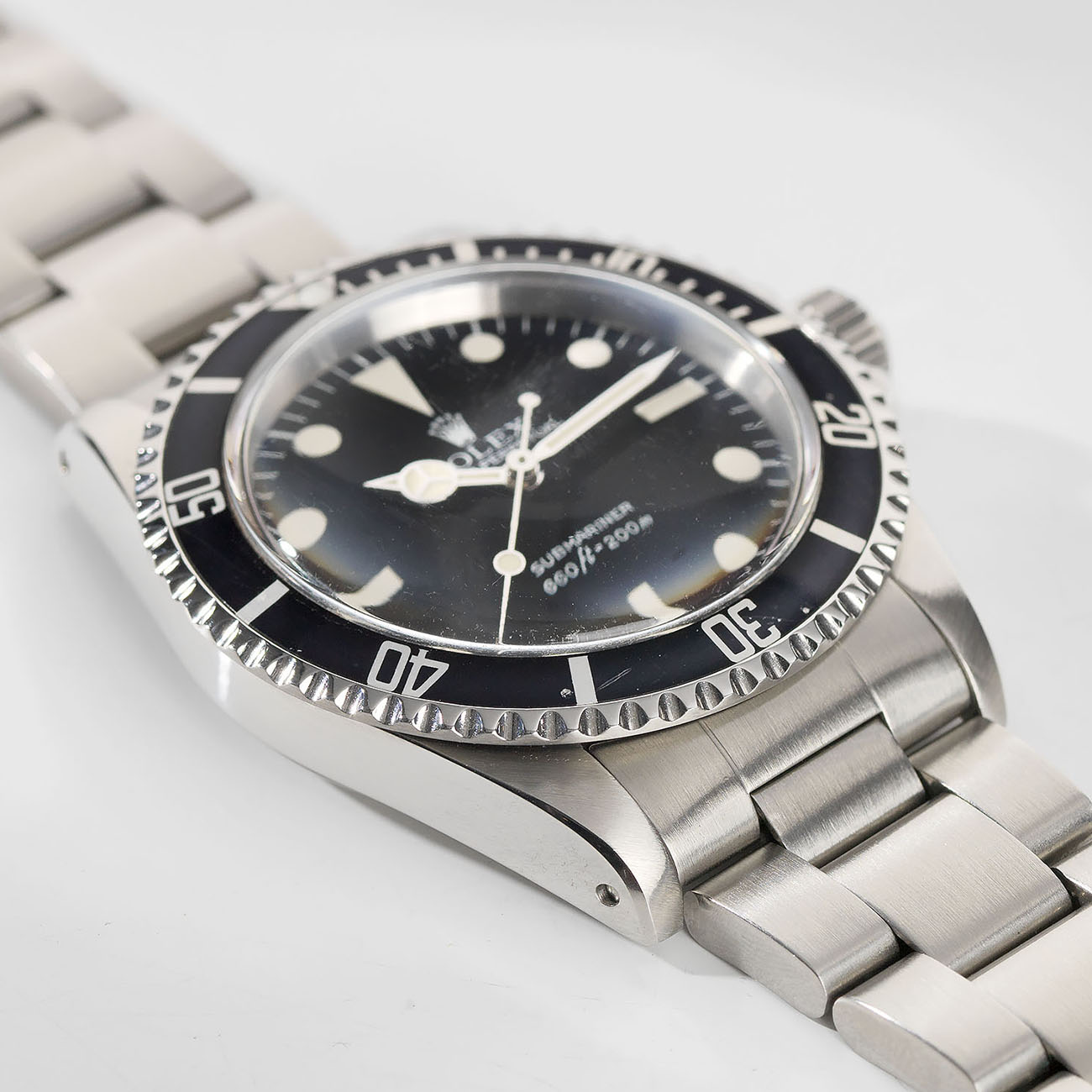Vintage Rolex 5513 Submariner Love - Article at Bulang and Sons