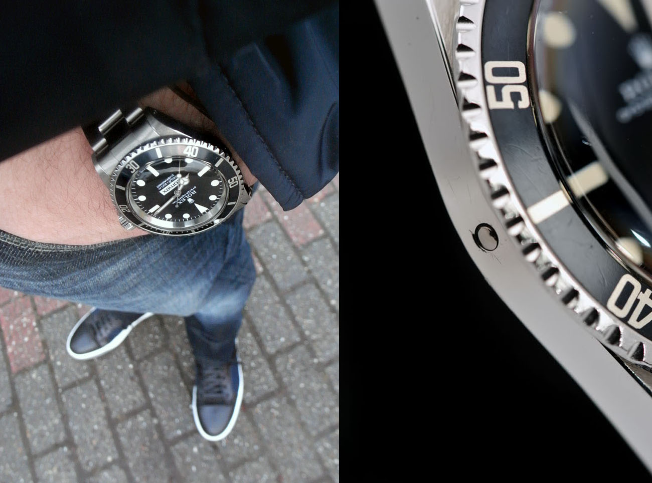Vintage Rolex 5513 Comex Submariner Love - Article at Bulang and Sons