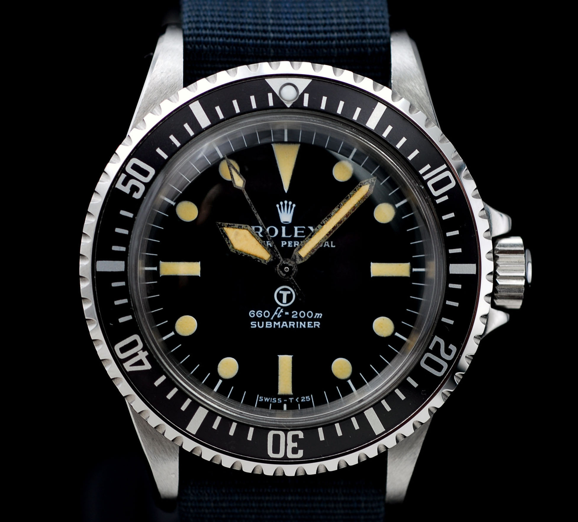 Vintage Rolex 5513 Milsub Submariner Love - Article at Bulang and Sons