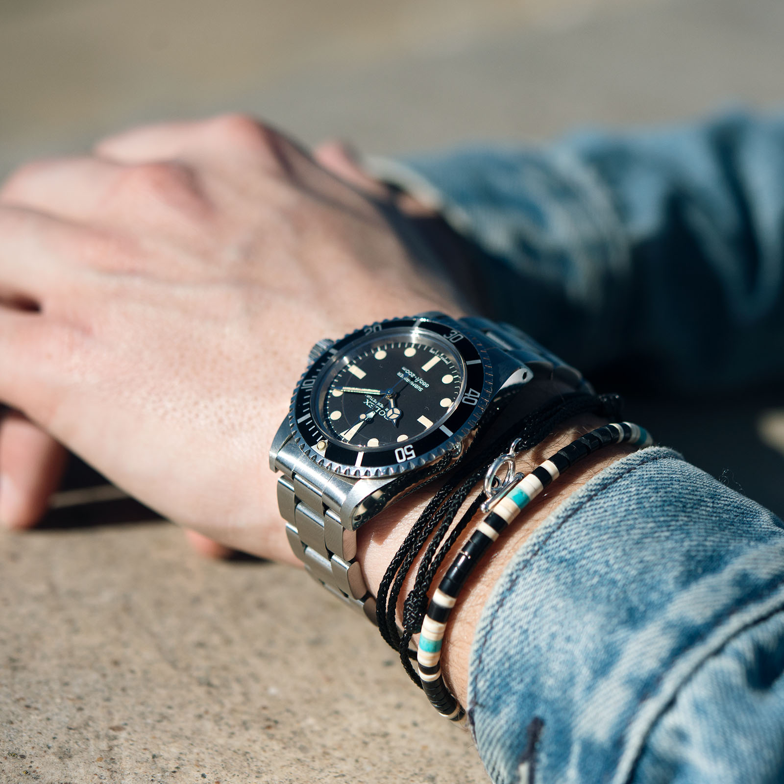 Vintage Rolex 5513 Submariner Love - Article at Bulang and Sons - Maxi Mk5 Dial