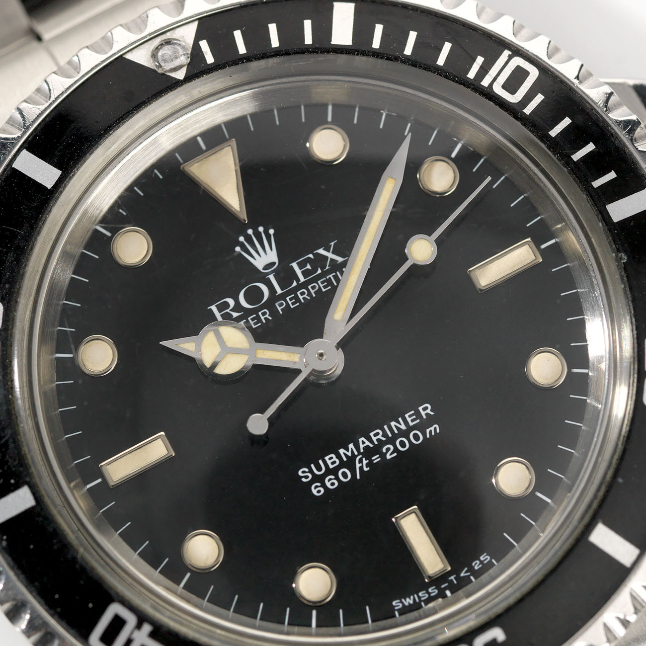 Vintage Rolex 5513 Submariner Love - Article at Bulang and Sons -